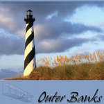 Scrapbook Customs - United States Collection - North Carolina - 12 x 12 Paper - Outer Banks