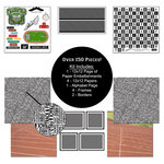 Scrapbook Customs - Sports Collection - 12 x 12 Paper Kit - Track and Field