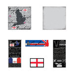 Scrapbook Customs - Scratchy Kit - England