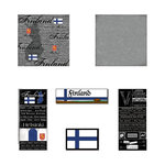 Scrapbook Customs - Scratchy Kit - Finland