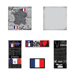 Scrapbook Customs - Scratchy Kit - France