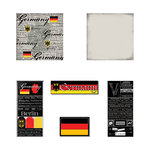 Scrapbook Customs - Scratchy Kit - Germany