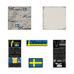 Scrapbook Customs - Scratchy Kit - Sweden