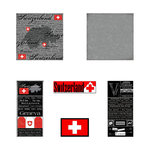 Scrapbook Customs - Complete Kit - Switzerland