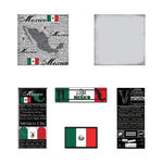 Scrapbook Customs - Scratchy Kit - Mexico