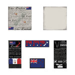 Scrapbook Customs - Scratchy Kit - New Zealand