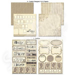 Scrapbook Customs - LDS Collection - 12 x 12 Scrapbook Kit - Family History
