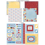 Scrapbook Customs - LDS Collection - 12 x 12 Scrapbook Kit - Primary