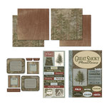 Scrapbook Customs - National Parks Scrapbook Kit - Great Smoky Mountains