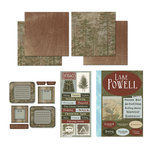 Scrapbook Customs - National Parks Scrapbook Kit - Lake Powell