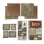 Scrapbook Customs - National Parks Scrapbook Kit - Bryce Canyon
