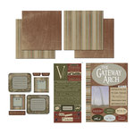 Scrapbook Customs - National Parks Scrapbook Kit - Gateway Arch