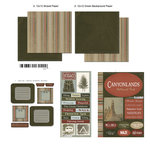 Scrapbook Customs - National Parks Scrapbook Kit - Canyonlands
