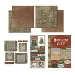 Scrapbook Customs - National Parks Scrapbook Kit - Monument Valley