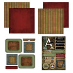 Scrapbook Customs - Patchwork Scrapbook Kit - Arkansas