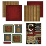 Scrapbook Customs - Patchwork Scrapbook Kit - California