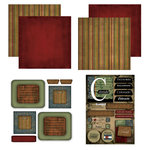 Scrapbook Customs - Patchwork Scrapbook Kit - Colorado