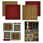 Scrapbook Customs - Patchwork Scrapbook Kit - Iowa