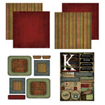 Scrapbook Customs - Patchwork Scrapbook Kit - Kentucky