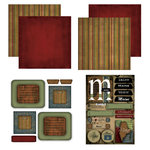 Scrapbook Customs - Patchwork Scrapbook Kit - Maine