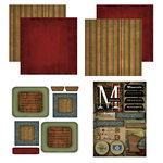 Scrapbook Customs - Patchwork Scrapbook Kit - Minnesota