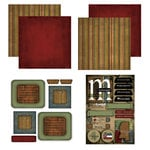 Scrapbook Customs - Patchwork Scrapbook Kit - Mississippi