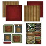 Scrapbook Customs - Patchwork Scrapbook Kit - Nebraska