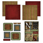 Scrapbook Customs - Patchwork Scrapbook Kit - Nevada