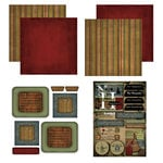 Scrapbook Customs - Patchwork Scrapbook Kit - New Hampshire