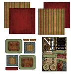 Scrapbook Customs - Patchwork Scrapbook Kit - New Jersey
