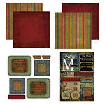 Scrapbook Customs - Patchwork Scrapbook Kit - New Mexico