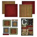 Scrapbook Customs - Patchwork Scrapbook Kit - Ohio