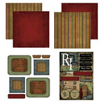 Scrapbook Customs - Patchwork Scrapbook Kit - Rhode Island