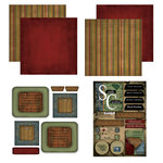 Scrapbook Customs - Patchwork Scrapbook Kit - South Carolina