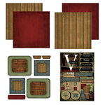 Scrapbook Customs - Patchwork Scrapbook Kit - Vermont