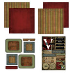 Scrapbook Customs - Patchwork Scrapbook Kit - Virginia