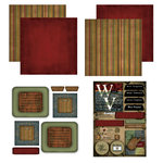Scrapbook Customs - Patchwork Scrapbook Kit - West Virginia