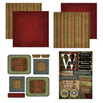 Scrapbook Customs - Patchwork Scrapbook Kit - Wyoming