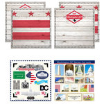 Scrapbook Customs - State Sightseeing Kit - Washington DC