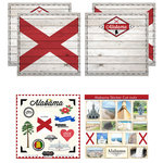 Scrapbook Customs - State Sightseeing Kit - Alabama