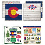 Scrapbook Customs - State Sightseeing Kit - Colorado