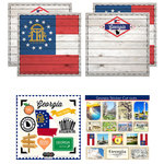 Scrapbook Customs - State Sightseeing Kit - Georgia