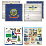 Scrapbook Customs - State Sightseeing Kit - Idaho