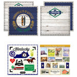 Scrapbook Customs - State Sightseeing Kit - Kentucky