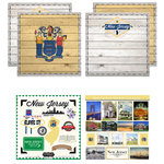 Scrapbook Customs - State Sightseeing Kit - New Jersey