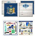 Scrapbook Customs - State Sightseeing Kit - New York
