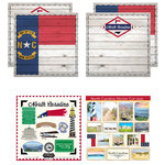 Scrapbook Customs - State Sightseeing Kit - North Carolina