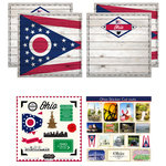 Scrapbook Customs - State Sightseeing Kit - Ohio