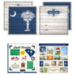 Scrapbook Customs - State Sightseeing Kit - South Carolina