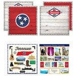 Scrapbook Customs - State Sightseeing Kit - Tennessee